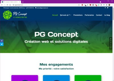 PG Concept - Accueil