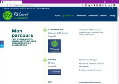PG Concept - Parcours