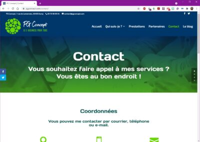 PG Concept - Contact